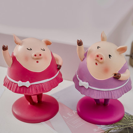 Individual character originality lives in wine ark of spring pig TV ark desk sitting room bedroom adornment small place image