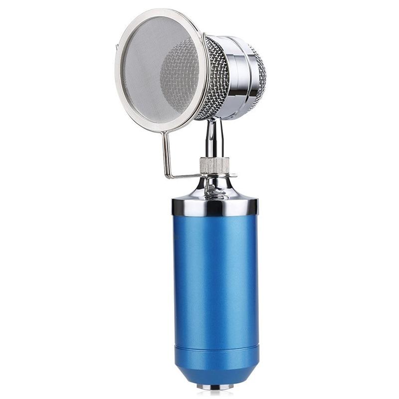 BM8000 miniphone +Line +miniphone sets +Metal shock mount Kit Blue