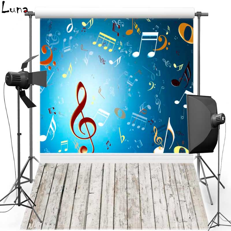 Music Note Wall Vinyl Photography Background Backdrop For Newborn Wood Floor New Fabric Flannel Background For Photo Studio 326 bookshelf vinyl photography background backdrop for kids wood floor new fabric flannel background for children photo studio 2694