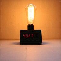 Beautiful 220V E27 incandescent bulb 40W Edison ST64 filament lamp lampada for home decor 6pcs/set