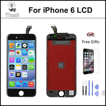5pcs AAA quality NO Dead Pixel ecran LCD for pantalla iPhone 6 LCD Display Replacement Touch