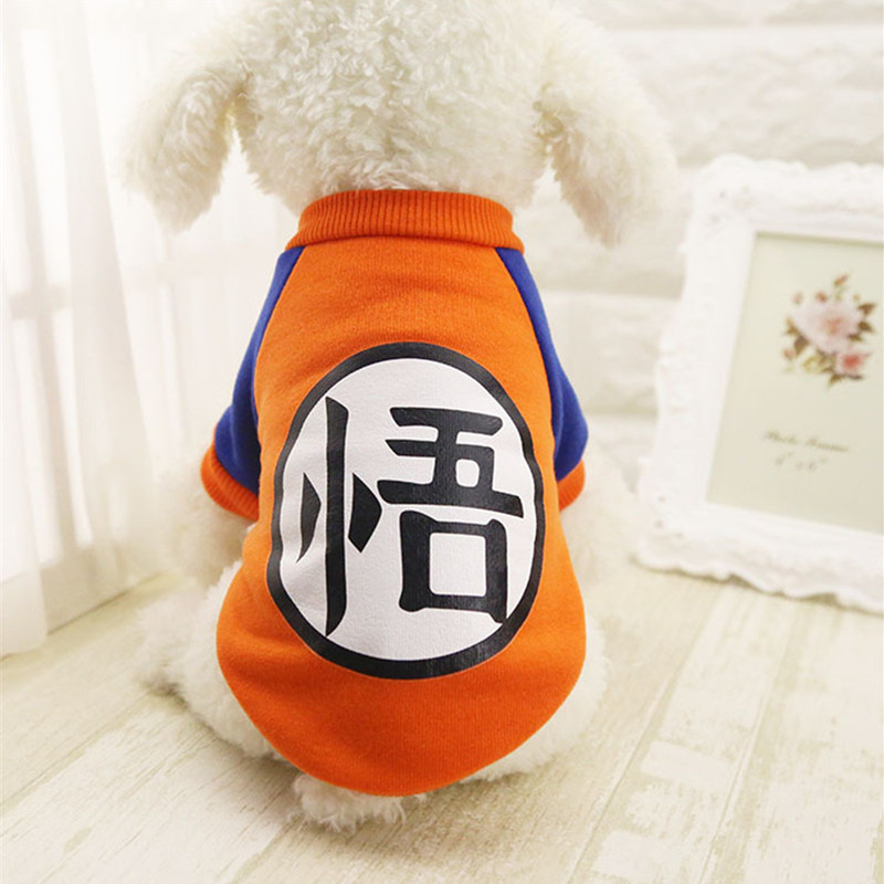 Warm Dog Clothes For Small Dogs Sweater T-Shirts Yorkies Chihuahua Puppy Coat Jacket Outfit Pet Clothing Apparel Costume S-XXL