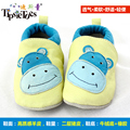 TipsieToes Marca Hipopótamo de la Historieta Del Bebé Niños Niño Mocasines Zapatos Para Niños Primeros Caminante Nuevo 2016 Otoño Primavera Moda