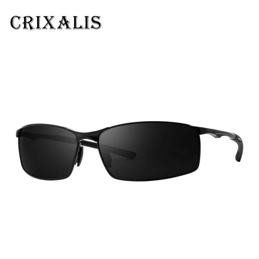 26be904db42f2 ... CRIXALIS BRAND DESIGN 2019 Sunglasses Men Polarized Square Driving Sun  glasses Male Alloy Frame Mirror Lens ...