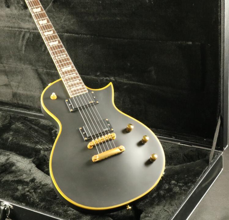 Top Quality ESPS Electric Guitar Matt Black Color Active
