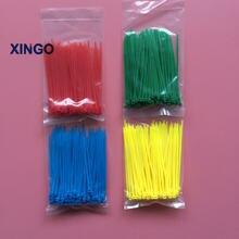 Xingo 400 шт 3x100 мм самоблокирующиеся Нейлоновые кабельные