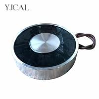 YJ 300/100 удерживающая электроприсоска Электромагнит Dc 12 V 24 V присоска цилиндрическая подъемная 3000 KG всасывающая пластина Китай