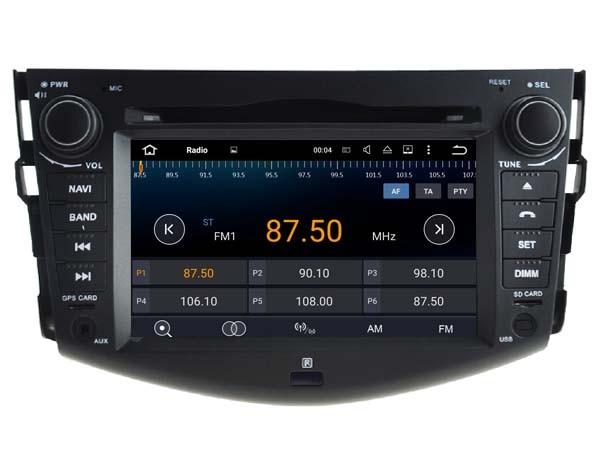 Android 7.1.1 2GB 1024*600 hd car DVD player for Toyota RAV4 2008-2012 gps navi radio stereo headunits multimedia tape recorder
