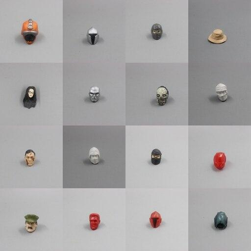 GI JOE Head Helmet Hat For 3.75 Action Figure