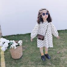 Spring and summer new girls doll collar love dress children princess