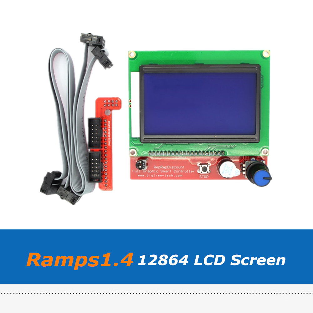 3d Printers & 3d Scanners Office Electronics Reprap 3d Printer Parts Smart Controller 12864 Lcd Screen Panel For Ramps1.4 Board Factories And Mines