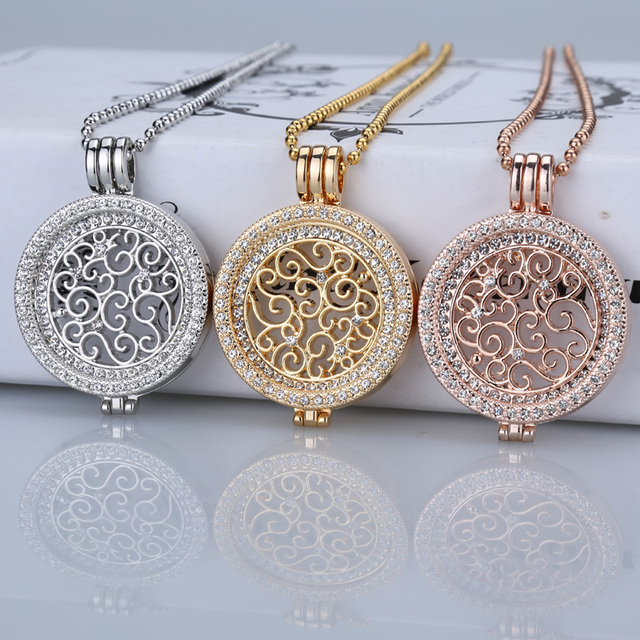 Xuben 35mm coin necklace sets holder fit my 33mm coin pendant disc xuben 35mm coin necklace sets holder fit my 33mm coin pendant disc interchangeable fashion women crystal 80cm bead chain long in pendants from jewelry aloadofball Images