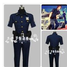 цена на 2014 new arrivle Free! -Eternal Summer  Free! - Iwatobi Swim Club Rin Matsuoka Yamazaki sosuke Police uniform cosplay costumes