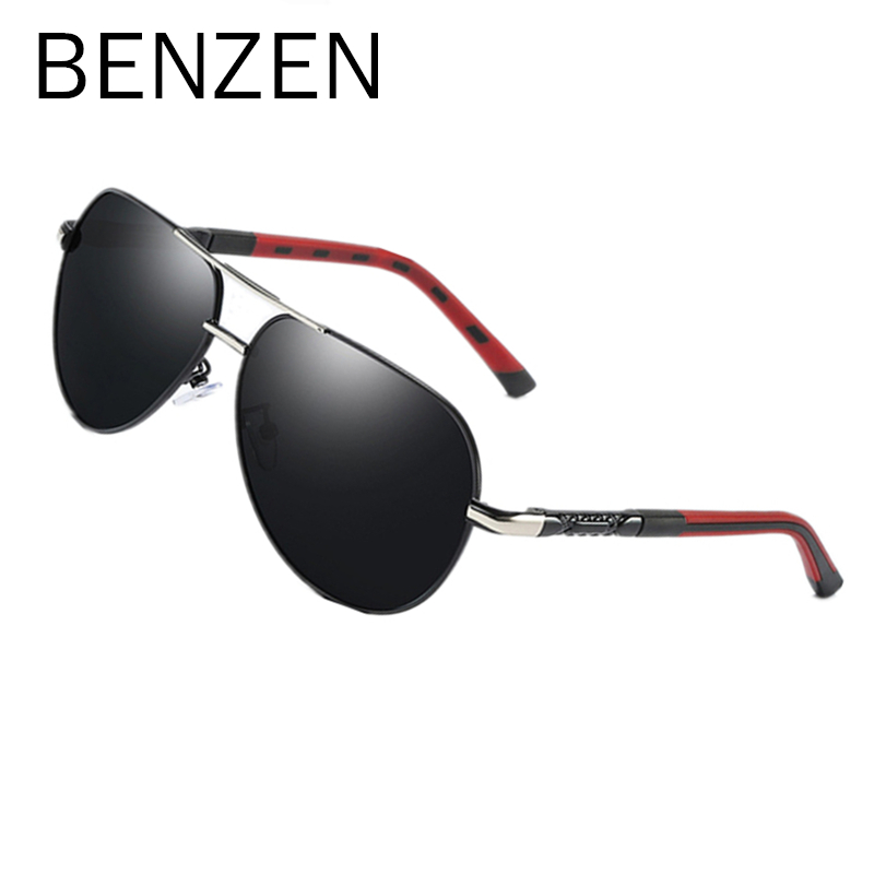 Polarized Sunglasses Men Top Quality Alloy Frame Male Sun Glasses Vintage Pilot Driving Glasses Metal Eyewear Gold B9352 mercedes очки