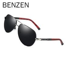 97846caebc Gafas de sol polarizadas para hombres de aleación de calidad marco gafas de  sol Vintage piloto de conducción Gafas de Metal gafa.