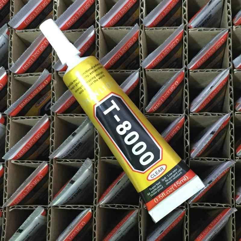 T8000 กาวใสกาวกาวอีพ็อกซี่กาวกาวสำหรับดอกไม้หม้อผ้าคริสตัล Rhinestones ไม้ไม้กาว