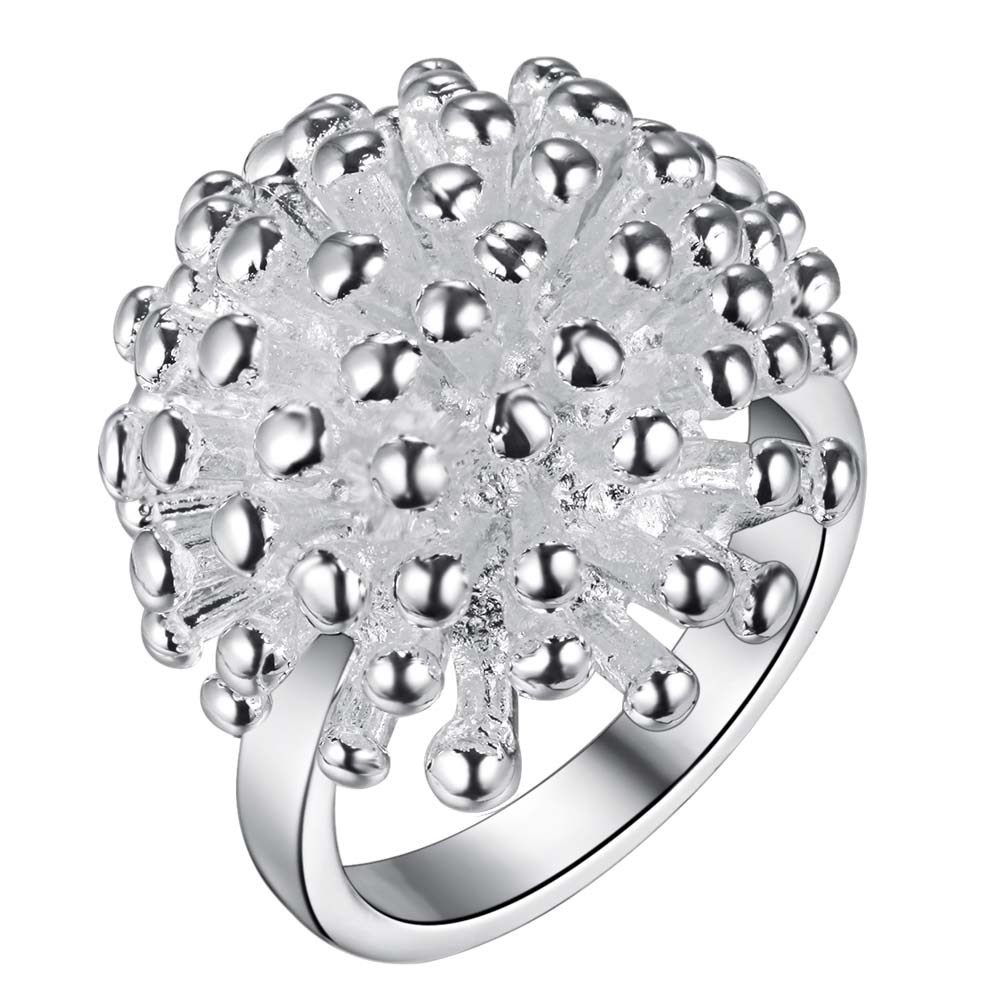 Firecrackers shiny beautiful Silver plated font b Ring b font Fashion Jewerly font b Ring b