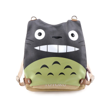 E-Mell Sword Art Online Fate Zero Natsumes Book Kumamon GINTAMA Totoro Multifunction Single shoulder PU canvas bag Backpack