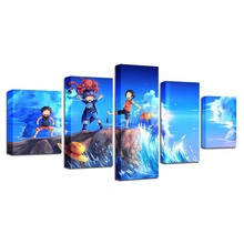 Luffy Sabo Ace Canvas HD Print