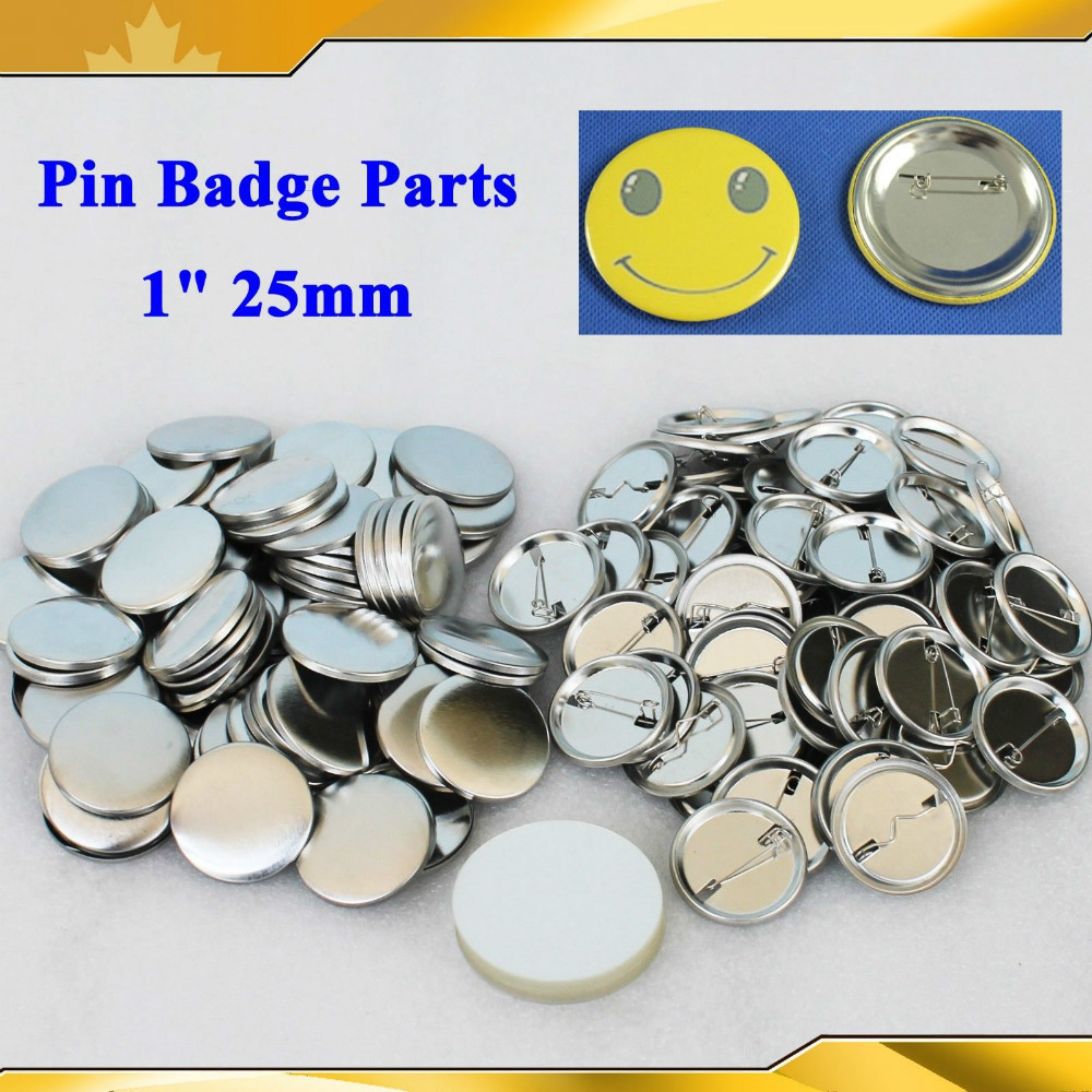 Labels, Indexes & Stamps Fast Deliver 1 25mm 1,000 Sets New Professional All Steel Badge Button Maker Pin Back Metal Pinback Button Supply Materials0