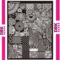DRK Nails Enlaced Designs High Quality Big Sales Nail Art Template Lace Template Big Template Salon