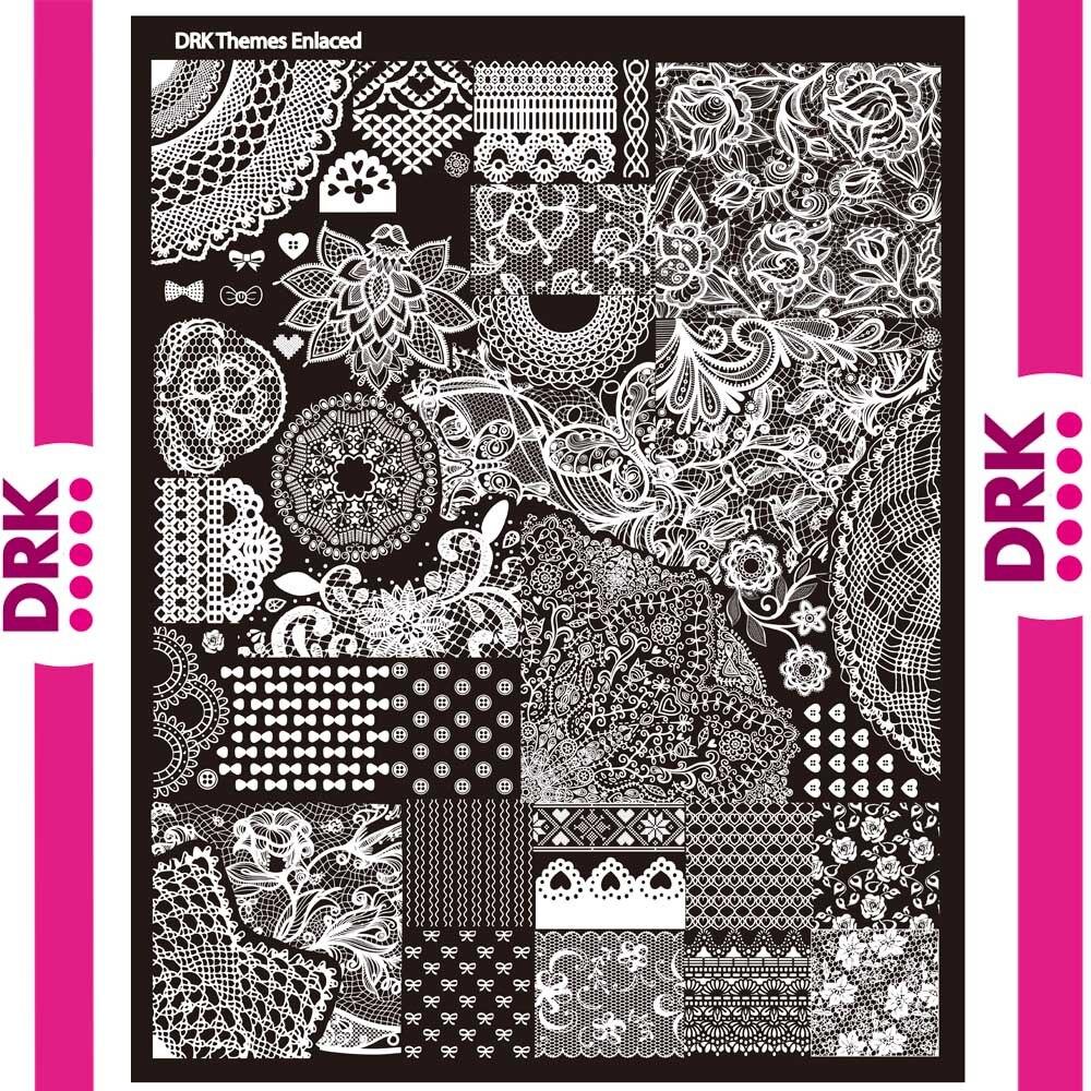 DRK Nägel designs vorlage Hohe Qualität Großen Umsatz Nail art ...