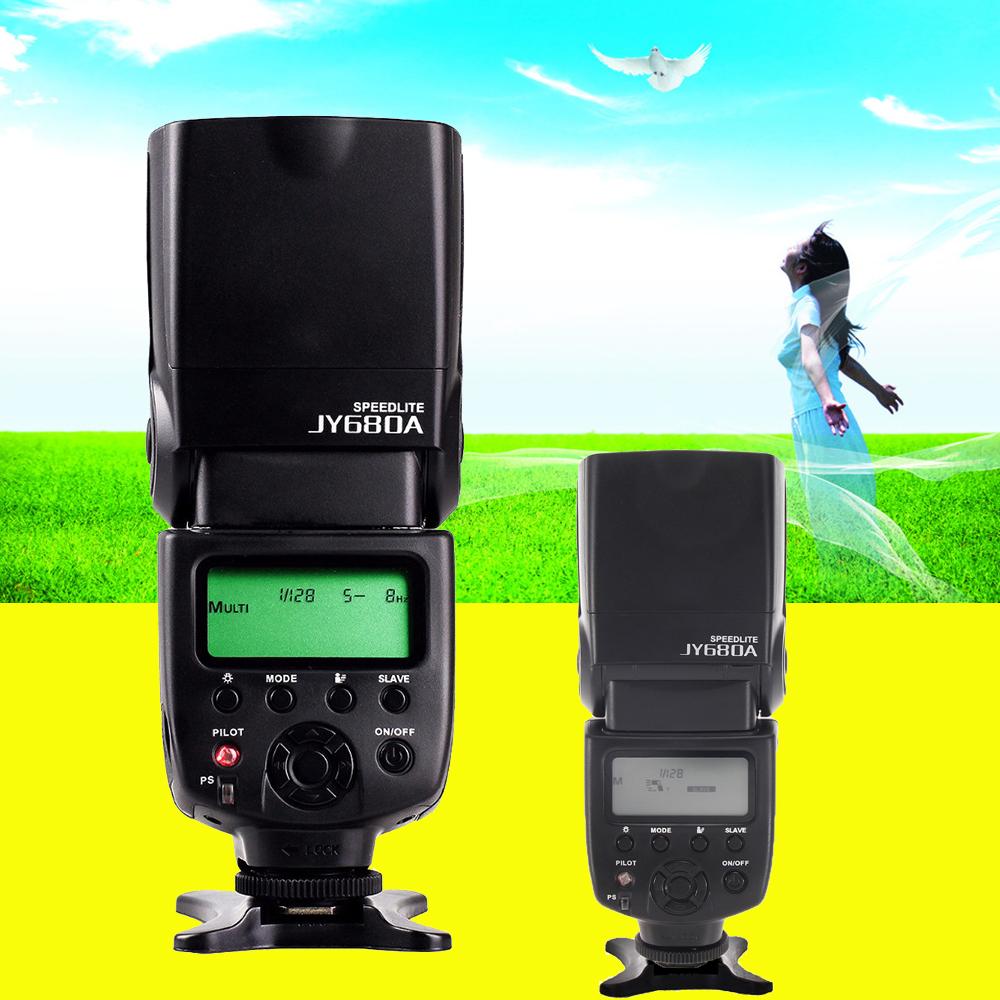 Prix pour Viltrox JY-680A JY680A Sans Fil Flash Speedlite pour Canon Pentax Nikon Olympus Sony Caméra lampe de Poche vs YONGNUO YN560 III YN560