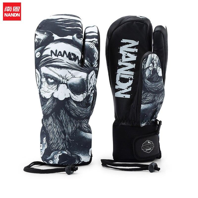 NANDN neige imperméable gants de Ski coupe-vent motoneige Snowboard gants neige Sport - 3