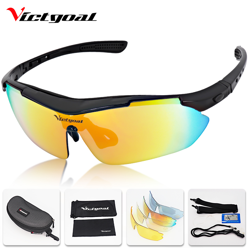 VICTGOAL Cycling Glasses Polarized UV400 Cycling Sunglasses Men Women Outdoor Sport Bicycle Eyewear 5 Lens Mountain Bike GlassesVICTGOAL Cycling Glasses Polarized UV400 Cycling Sunglasses Men Women Outdoor Sport Bicycle Eyewear 5 Lens Mountain Bike Glasses