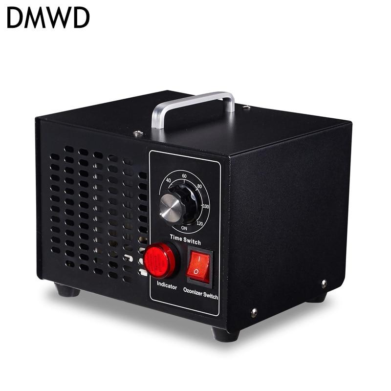 все цены на DMWD Formaldehyde Removing Air Purifier Ozone Sterilizer Air disinfection machine sterilization deodorization generator US EU