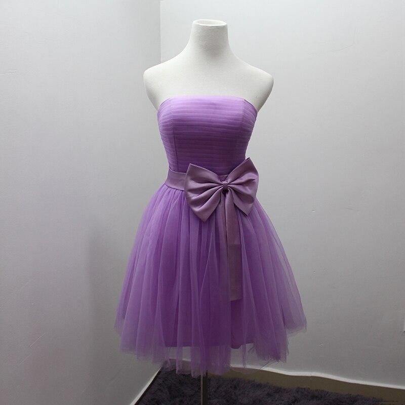 Popular Short Light Purple Bridesmaid Dresses-Buy Cheap Short ...