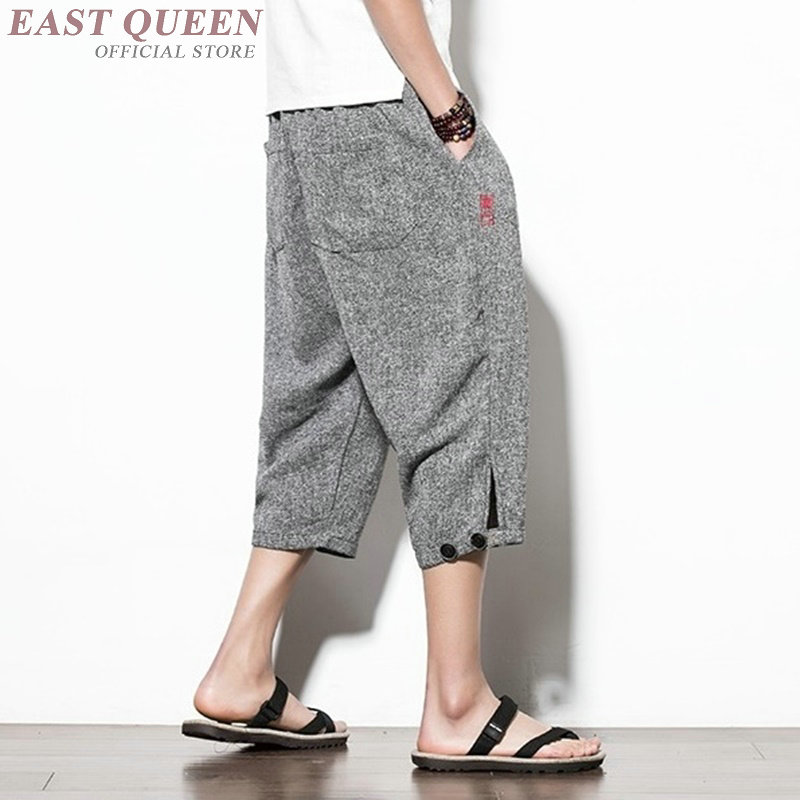 88a460ea4a Aliexpress.com : Buy Cropped trousers for male trousers traditional ...