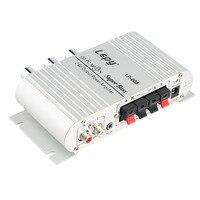 1pc 12V Hi Fi Stereo Audio Amplifier Home Hi Fi Bass Speaker Loudspeaker With USB Port