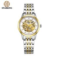 Starking Genuine Women automatic mechanical Watch self wind sapphire watches ladies fashion business female clock