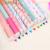 Envío gratis 10 unids/lote 10 colores Lindos de la Historieta Colorido Pluma de Gel de herramientas de la escuela de Papelería Coreano material escolar kawaii CL1002