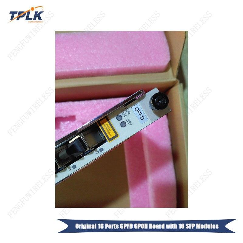 Oryginalny Hua wei 16 GPON porty usługi pokładzie płyty GPFD z 16 sztuk C + moduły SFP dla MA5680T/MA5683T /MA5600T/MA5603T OLT w Urządzenia światłowodowe od Telefony komórkowe i telekomunikacja na AliExpress - 11.11_Double 11Singles' Day 1