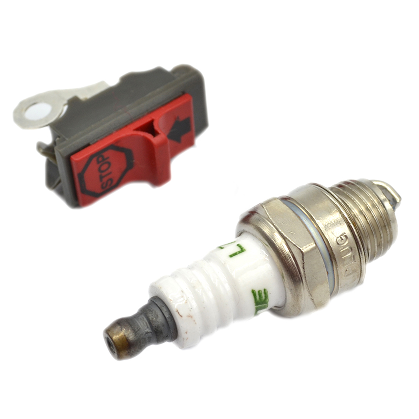 US $30 15 |Carburetor Ignition Coil Switch Fuel Filter Spark Plug Kit For  HUSQVARNA 61 266 268 272 Chainsaw Engine Motor Carb-in Tool Parts from  Tools