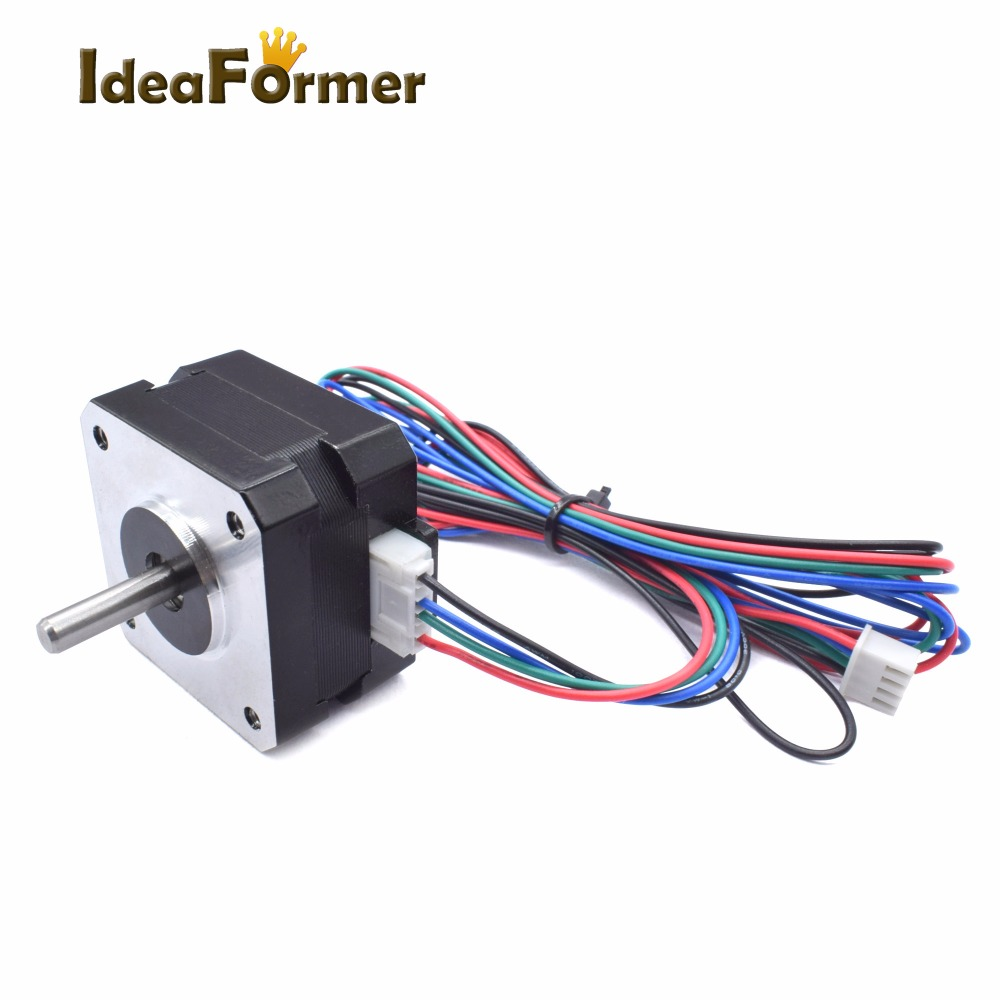 5pcs 3d Printer Parts Hybrid 2 Phases 18degree Cnc Reprap Nema 42 Arduino Controlled Wiring The Electronics Stepper Motor 220mnm31ozin 26mm Height 42bygh033 A 18y In
