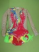 Professional Kids/Adult cheerleader uniform Boy/Girl Artistic gymnastics competition uniform leotard custom size