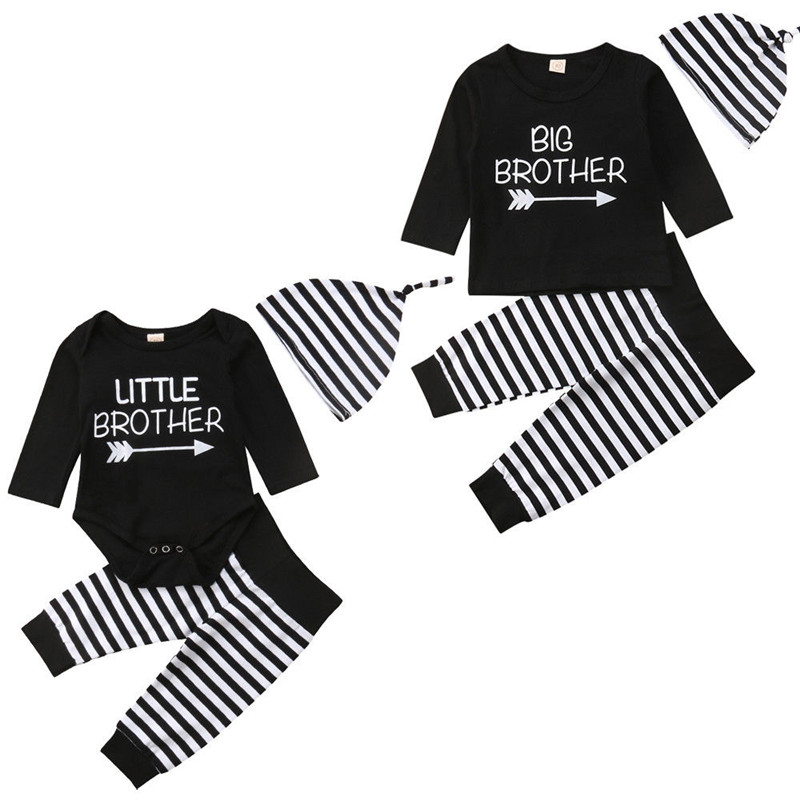 puseky Baby Boys Girls Short Sleeve T-Shirt Tops+Short Pants Brother and Sister Matching Outfits Set