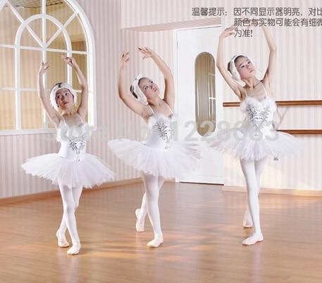buy new sequin pancake tutu white swan lake ballet costume girls ballerina. Black Bedroom Furniture Sets. Home Design Ideas
