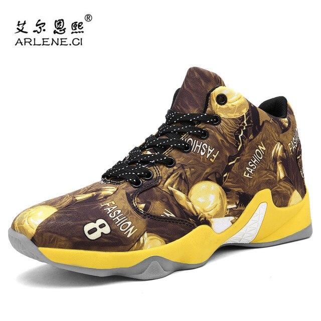 4f3055e2 2018 alto Top marca Zapatillas de baloncesto para los hombres al aire libre  transpirable cesta sneakers