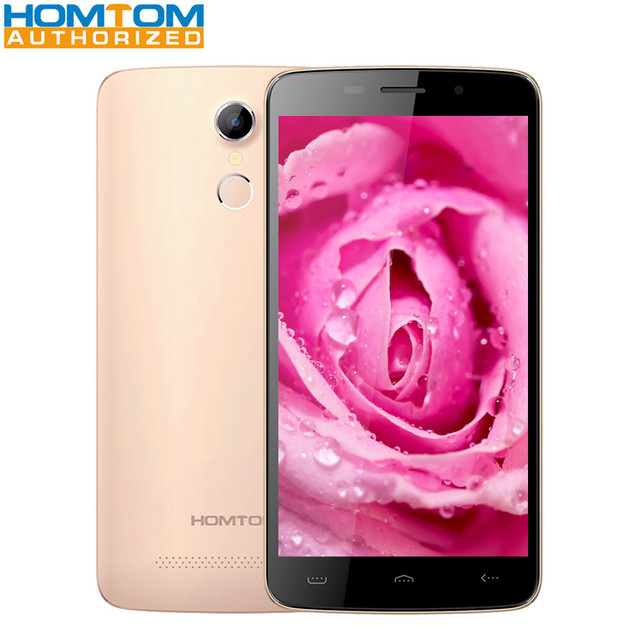 HOMTOM HT17 / HT17 PRO 5.5 inch Android 6.0 Smartphone Quad Core MTK6737 1GB 8GB / 2GB 16GB 2MP 8MP Camera 3000mAh Mobile Phone