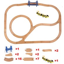 Kid Electric Train Toys Magnetic Slot  High-speed Rail Compatible With Wooden Train Tracks and All Kinds Of Wooden Railway electric train toys magnetic electric train high speed rail compatible with thomas train tracks and all kinds of wooden railway