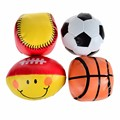 BOHS Baby Toy Balls Soft Safe Rugby Basketball Softball - 4pcs Pack