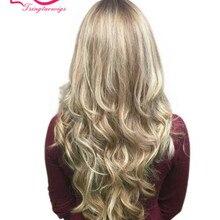 Tsingtaowigs, сделанный на заказ блонд волна, европейские девственные волосы, Кошерные Парики, еврейские парики