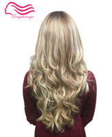 Tsingtaowigs , Custom made blonde wave , European virgin hair , kosher wigs , jewish wigs free shipping