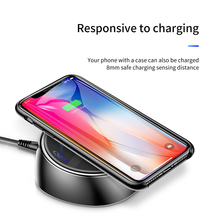Baseus 2 in 1 wireless charger for iPhone X 8 Samsung Galaxy S9 S8 fast charging quick charge 3.0 with 3 usb 2.0 slot 10W 3.4A