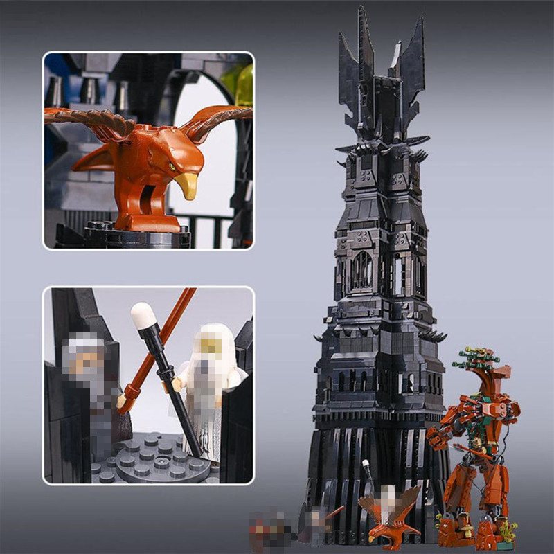Hot-Sale-LEPIN-16010-2430Pcs-Lord-of-the-Rings-The-Tower-of-Orthanc-Model-Building-Kits___