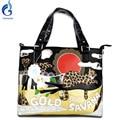 NEW 2016 Women bags Messenger bag Women's gold embroidery Shoulder Handbags Art Retro Handmade Bolsas Feminina Lady Cute Leopard